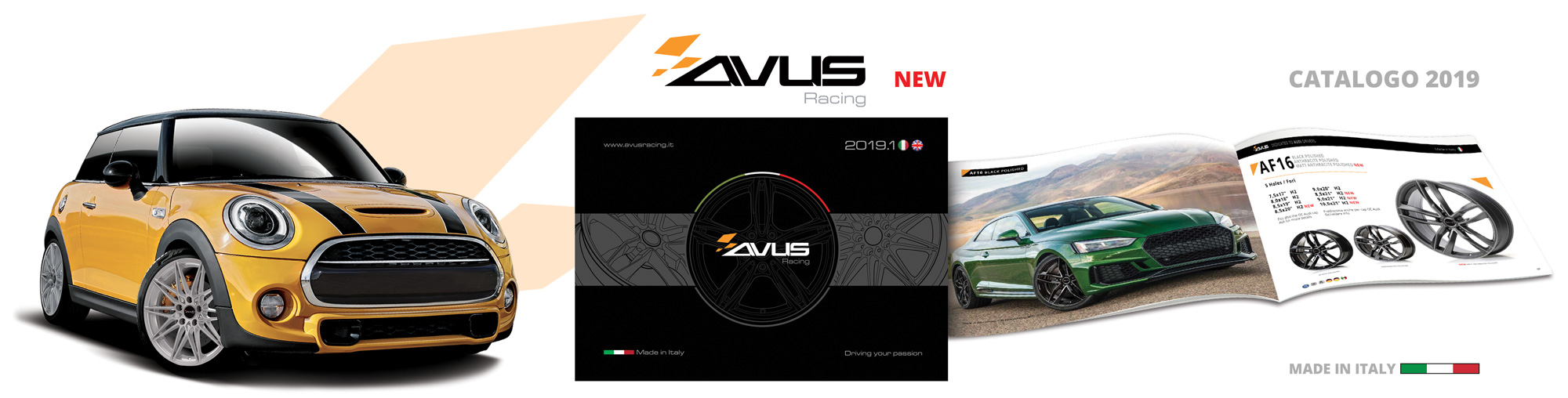Avus Racing Catalogo 2019