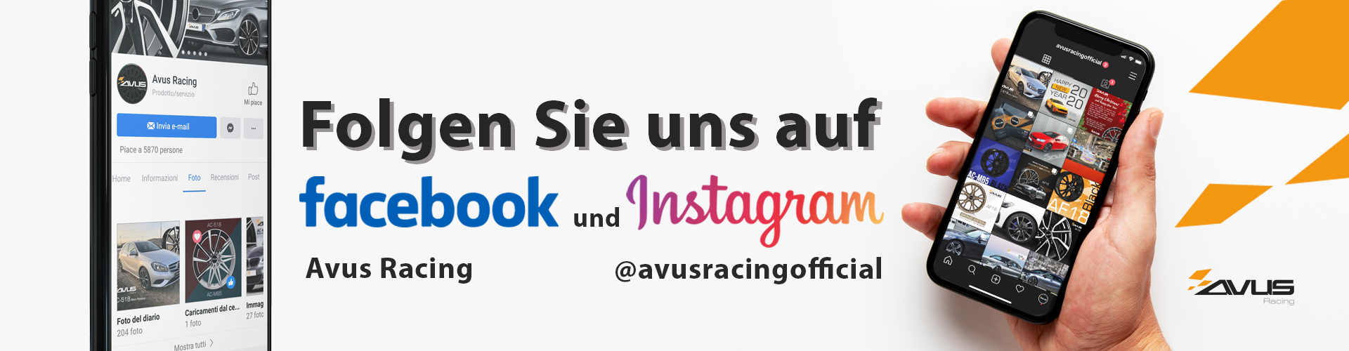 instagram facebook avus racing